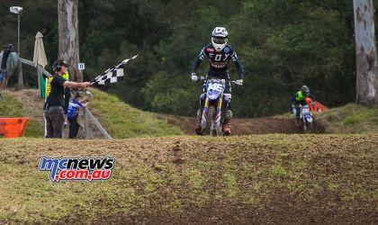 MX Nationals Rnd Conondale MXD Race MaximusPurvis wins ImageByScottya