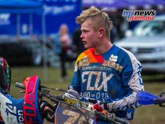MX Nationals Rnd Conondale MXD Race Winners Ellis ImageByScottya