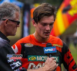 MX Nationals Rnd Conondale Morgan Fogarty ndPlace race ImageByScottya
