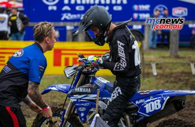 MX Nationals Rnd Conondale Nicholas Kefford Goggles Replaced ImageByScottya