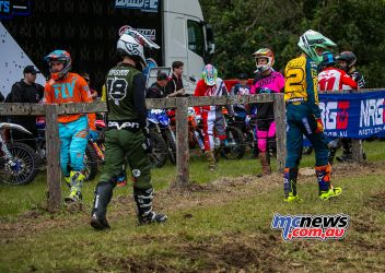 MX Nationals Rnd Conondale Wilson Todd GatePick race ImageByScottya