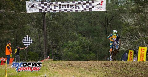 MX Nationals Rnd Conondale Wilson Todd Race TakesWin ImageByScottya