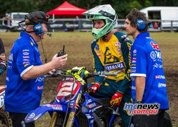 MX Nationals Rnd Conondale Wilson Todd Race TakesWin chats ImageByScottya