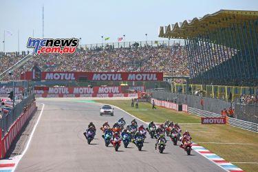 MotoGP Assen GPstart GP AN
