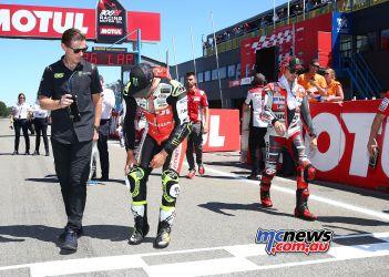 MotoGP Assen Pits CrutchLor GP AN