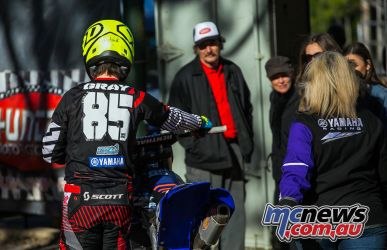 mx nationals ranch mx saturday practice gray walking out ImageByScottya