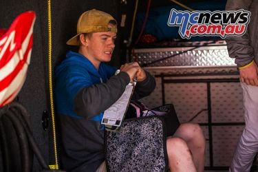 mx nationals ranch mx saturday practice mason rowe tear offs ImageByScottya