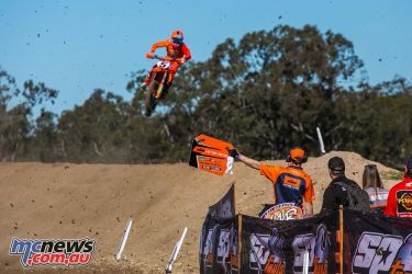 mx nationals ranch mx saturday practice mx gibbs pitboard ktm ImageByScottya