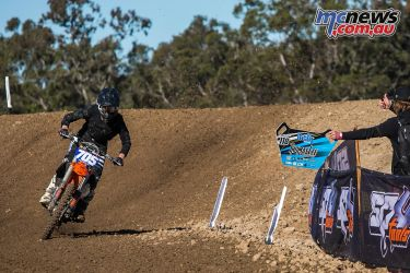 mx nationals ranch mx saturday practice mxd crawford pitboard ImageByScottya