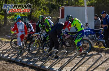 mx nationals round cc cup racing gate set up ImageByScottya
