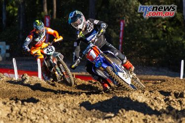 mx nationals round mx dean out front first lap ImageByScottya