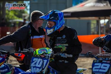 mx nationals round mxd racing helmet fix ImageByScottya