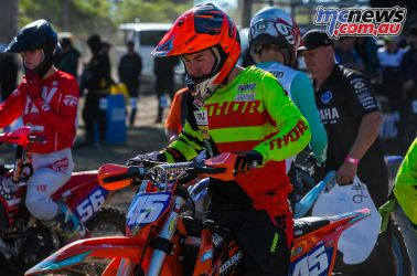 mx nationals round mxd racing koolen start gate ImageByScottya