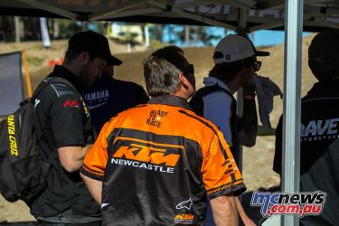 mx nationals round mxd racing ktm newcastle ImageByScottya