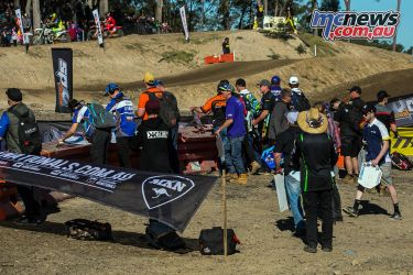 mx nationals round mxd racing pitboard group ImageByScottya