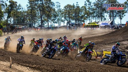 mx nationals round mx long in front