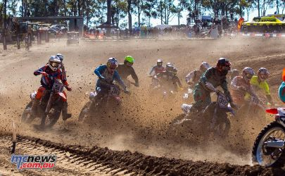 mx nationals round mx roost first corner