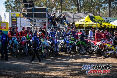 mx nationals round mx waiting on riders