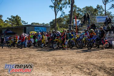 mx nationals round mxd waiting on to race
