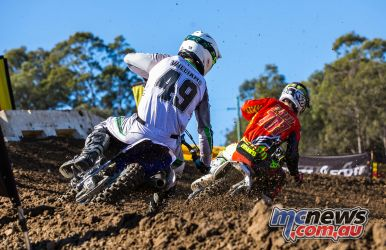 mx nationals round mxd williams yamaha