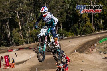 mx nationals round race mx barham jump