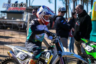 mx nationals round race mx barham walks in