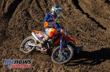 mx nationals round race mx bryson side on