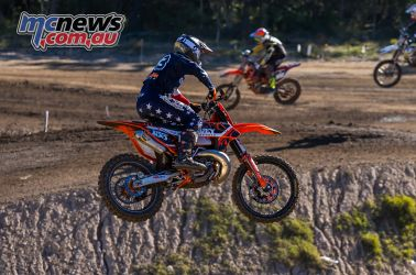 mx nationals round race mx havey side on