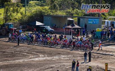mx nationals round race mx lined up