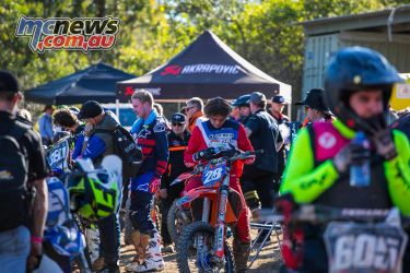 mx nationals round race mxd goggle fix