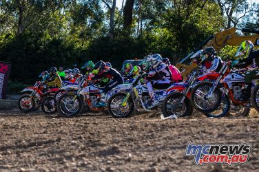 mx nationals round race mxd starting off