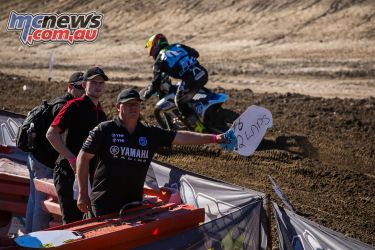 mx nationals round race mxd two laps