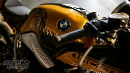 BMW RnineT Spezial Black Storm Metallic Aurum