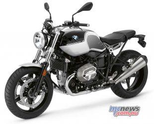 BMW RnineT Spezial Black Storm Metallic Light White
