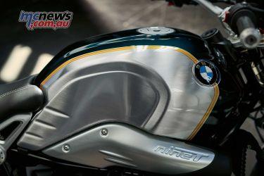 BMW RnineT Spezial Pollux Metallic Aluminium