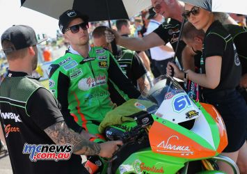 BSB Rnd Thruxton Ben Currie on the grid Image DYeomans