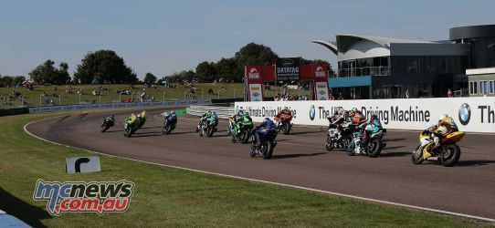 BSB Rnd Thruxton Supersport race away Image DYeomans