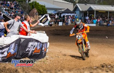 MX Nationals Rnd Gladstone moto mx evans pitboard