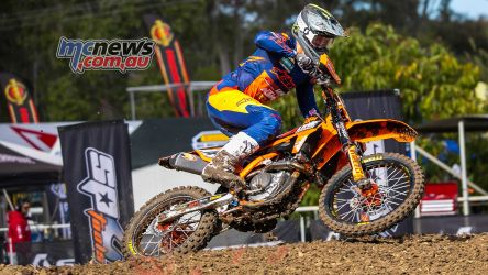 MX Nationals Rnd Gladstone moto mx practice mitch evans