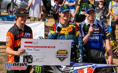 MX Nationals Rnd Gladstone moto mx super pole ferris takes win