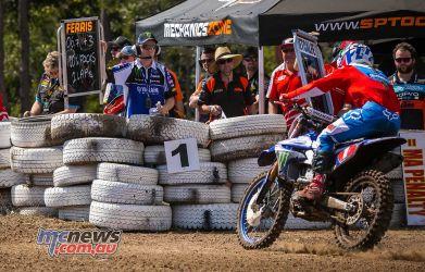 MX Nationals Rnd Gladstone moto mx two laps