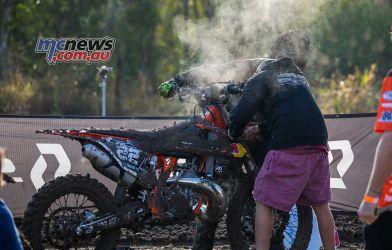 MX Nationals Rnd Gladstone moto mx over heating