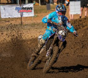 MX Nationals Rnd Gladstone moto mx practice wilson paddle tyre