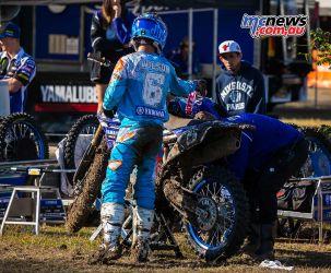 MX Nationals Rnd Gladstone moto mx practice wilson tyre swap