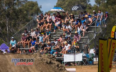 MX Nationals Rnd Gladstone moto mxd crowd grandstand