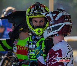 MX Nationals Rnd Gladstone moto mxd practice bailey bova
