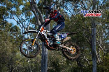 MX Nationals Rnd Gladstone moto mxd practice bray