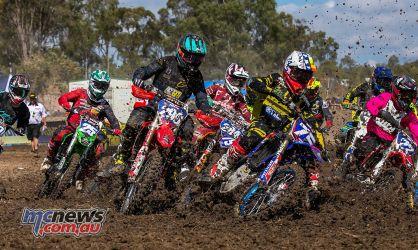 MX Nationals Rnd Gladstone moto mxd start