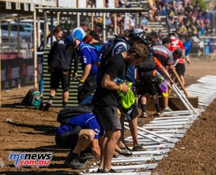 MX Nationals Rnd Gladstone moto mx start gate clean