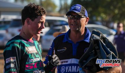 MX Nationals Rnd Gladstone moto mxd bailey and father